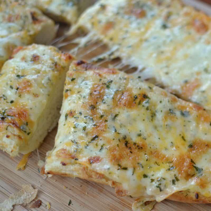 Triple Cheese Garlic Bread (6)