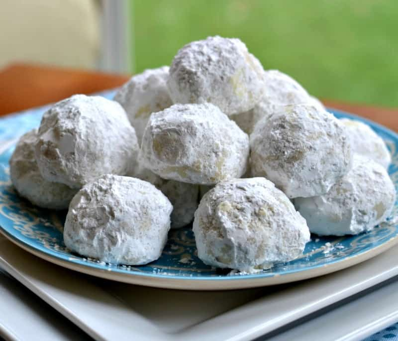 Christmas Snowball Cookies