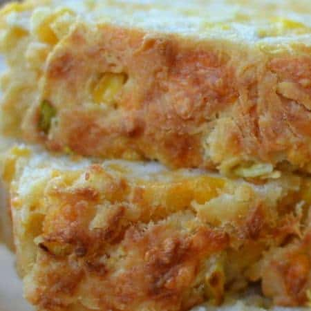 Cheddar Corn Scallion Beer Bread