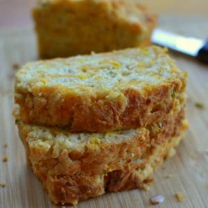cheddar-corn-scallion-beer-bread-7 | Small Town Woman