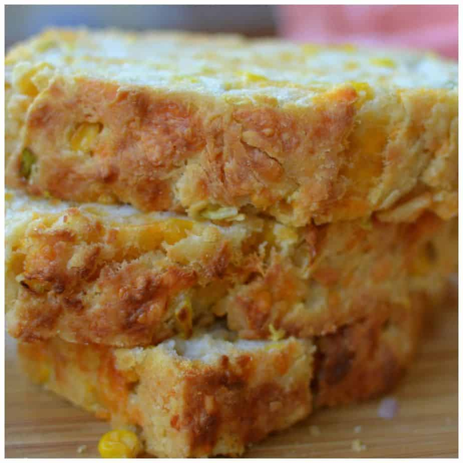Cheddar Corn Scallion Beer Bread Small Town Woman