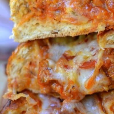 Cheesy Sausage Pizza Stuffed Rolls