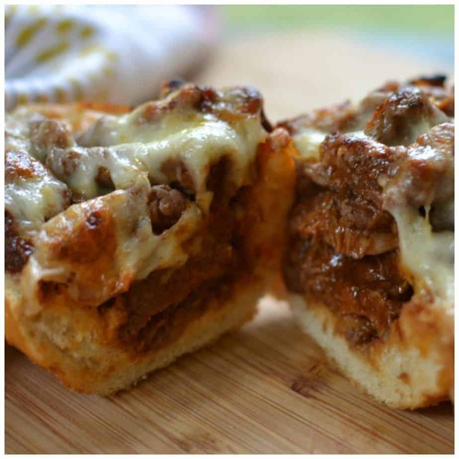 cheesy-steak-stuffed-french-bread-picmonkey-collage