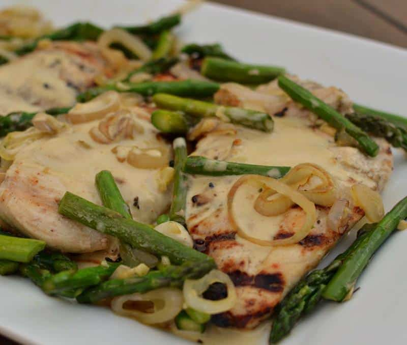 Chicken with Sweet Creamy Mustard Sauce | Small Town Woman