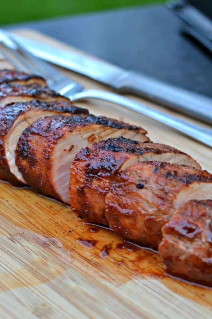 Dry Rub Grilled Pork Tenderloin Small Town Woman