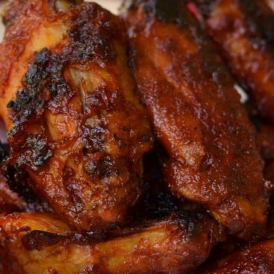 Honey Barbecue Sriracha Wings