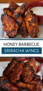 Honey Barbecue Sriracha Wings