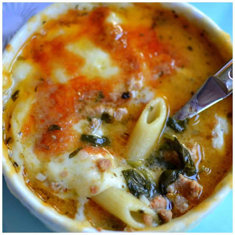 sausage-penne-soup-picmonkey-collage