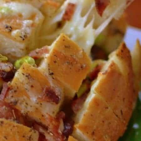 Bacon Scallion Monterey Jack Crack Bread