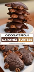 Chocolate Pecan Caramel Turtles