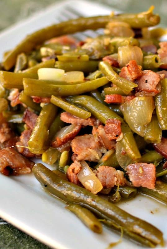 Delicious Southern Style Green Beans