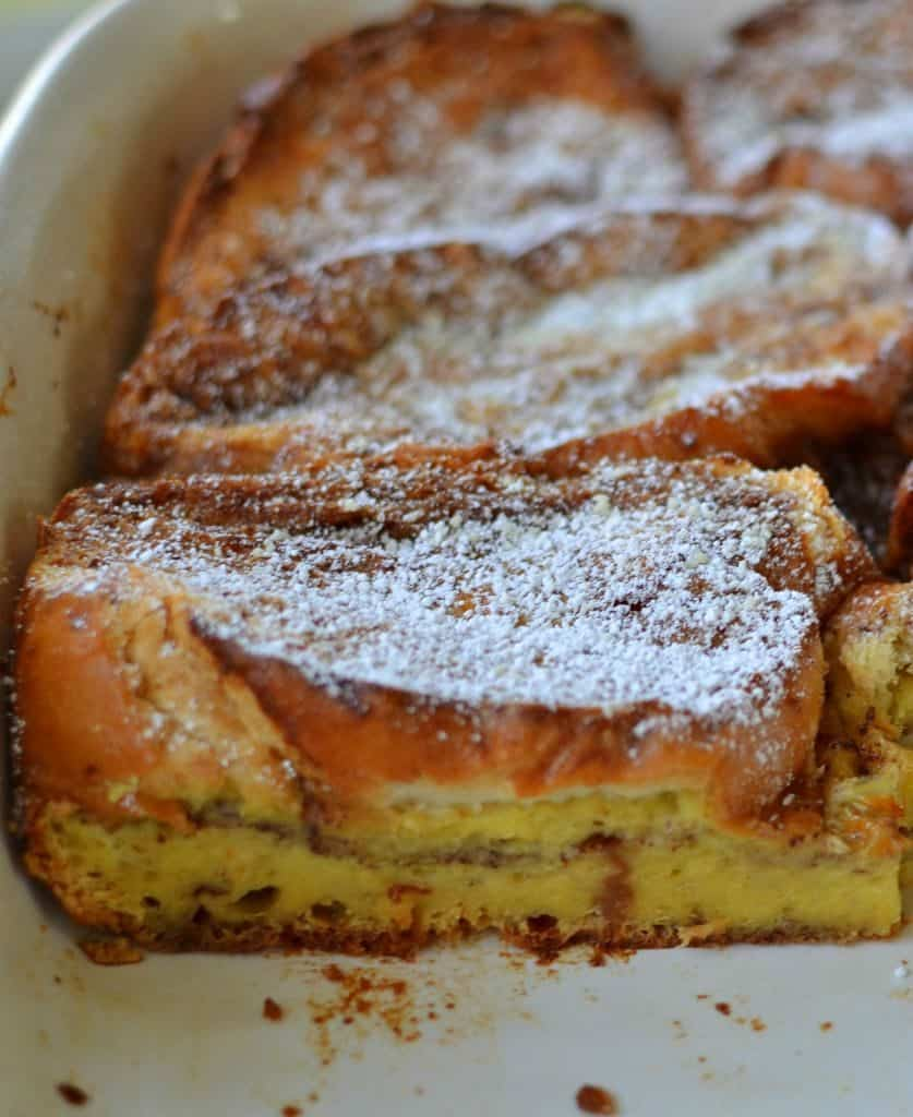 Make this french toast casserole ahead of time for a quick weekend breakfast to enjoy with the family
