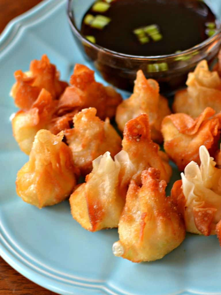 Pepper Jack Chicken Cream Cheese Wontons