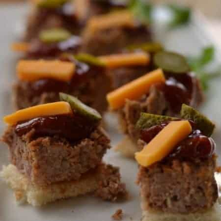 Easy Mini Meatloaf Party Bites