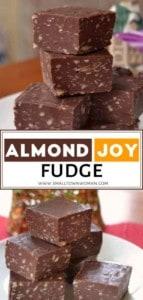 Foolproof Almond Joy Fudge
