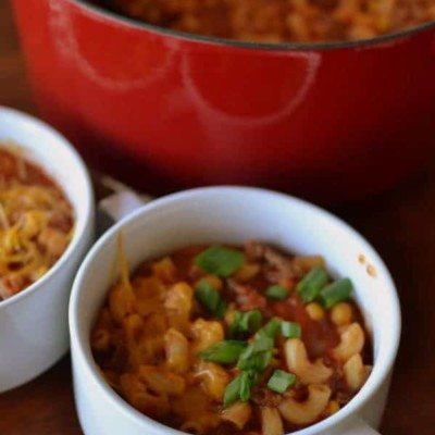 One Pot Beef and Macaroni