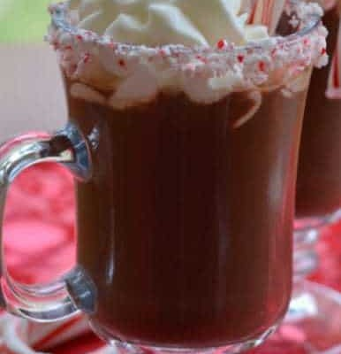 Quick Peppermint Hot Chocolate