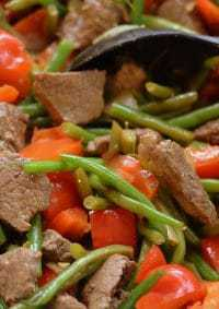 sweet-ginger-beef-beans
