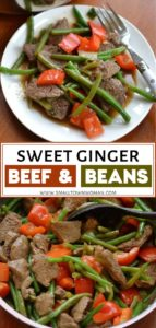Sweet Ginger Beef and Bean