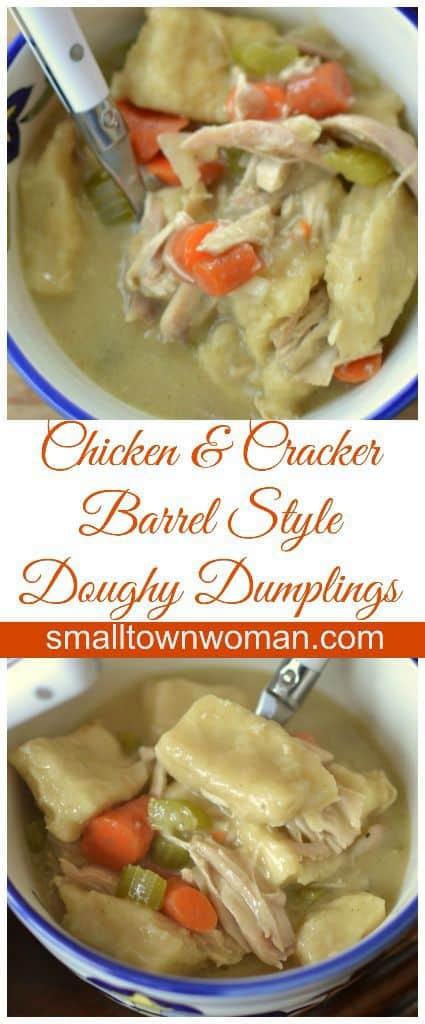 Cracker Barrel Style Chicken and Dumplings