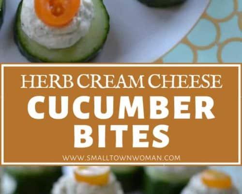 Cream Cheese Cucumber Bites