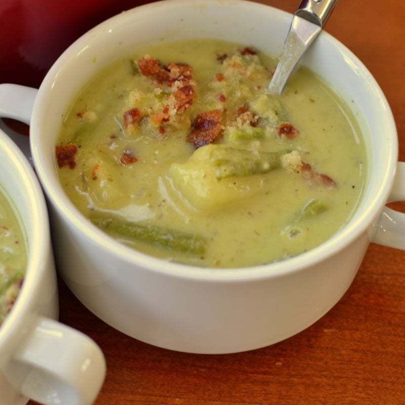 Creamy Asparagus Potato Soup