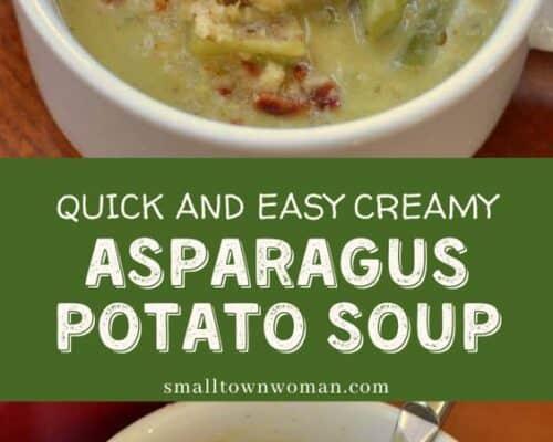 Creamy Asparagus Potato Soup