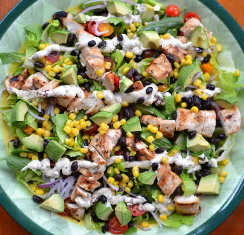 Grilled Chicken Southwest Chopped Salad