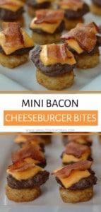 Mini Bacon Cheeseburger Bites
