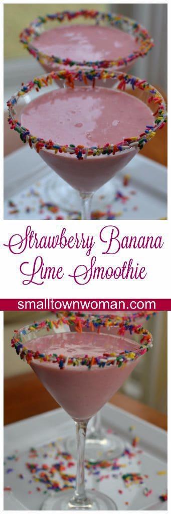 strawberry-banana-lime-smoothie-picmonkey-pinterest