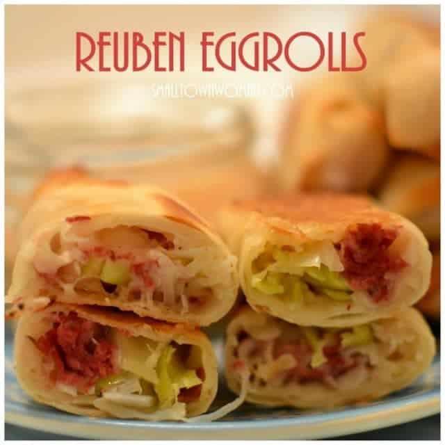 Reuben Egg Rolls Do you like eggrolls? Do you likehellip