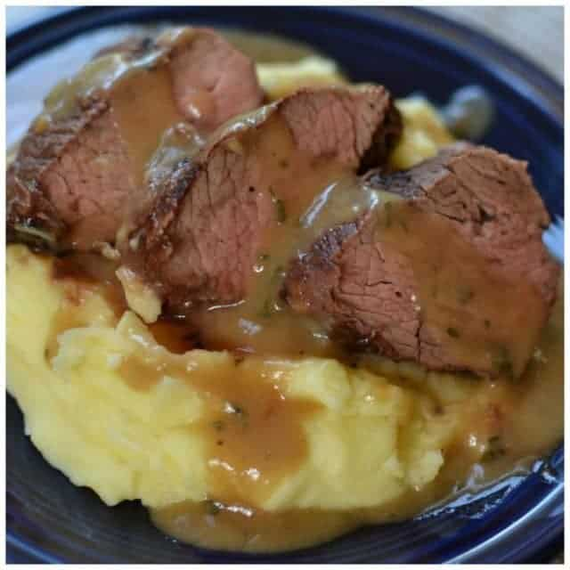 This Beef Petite Shoulder with Pan Gravy is by farhellip
