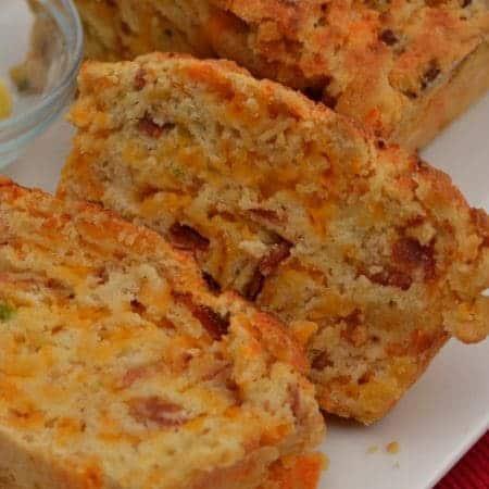 Bacon Jalapeno Cheddar Beer Bread