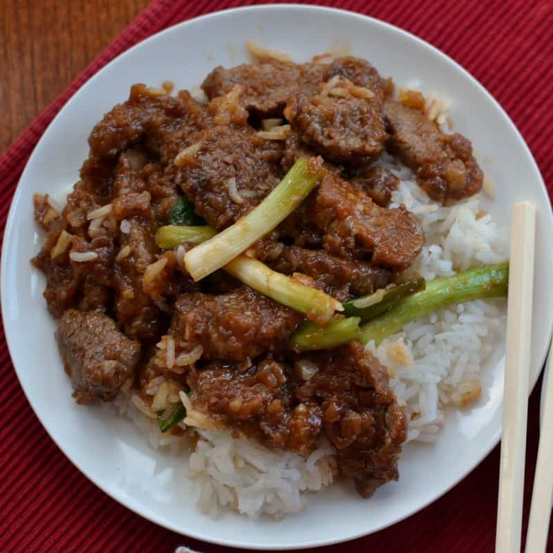 Try this homemade Mongolian beef recipe instead of takeout and enjoy a delicious homemade meal at home
