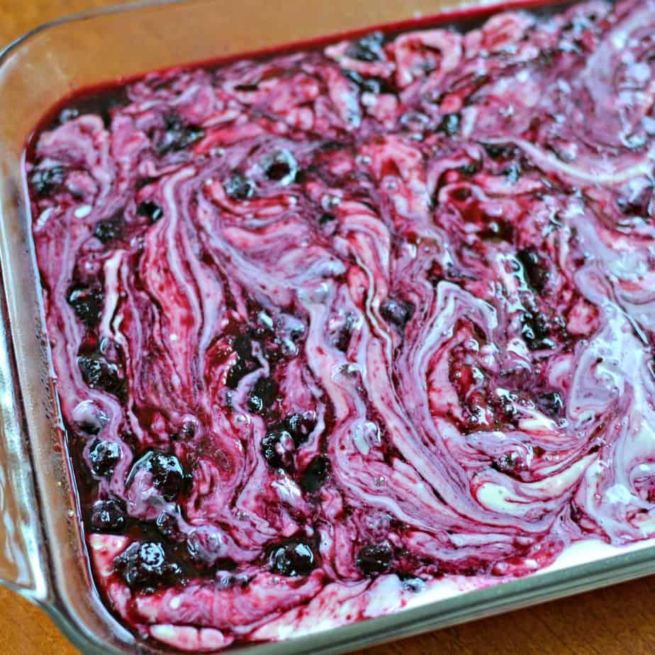 How to make Blueberry Cream Cheese Bars