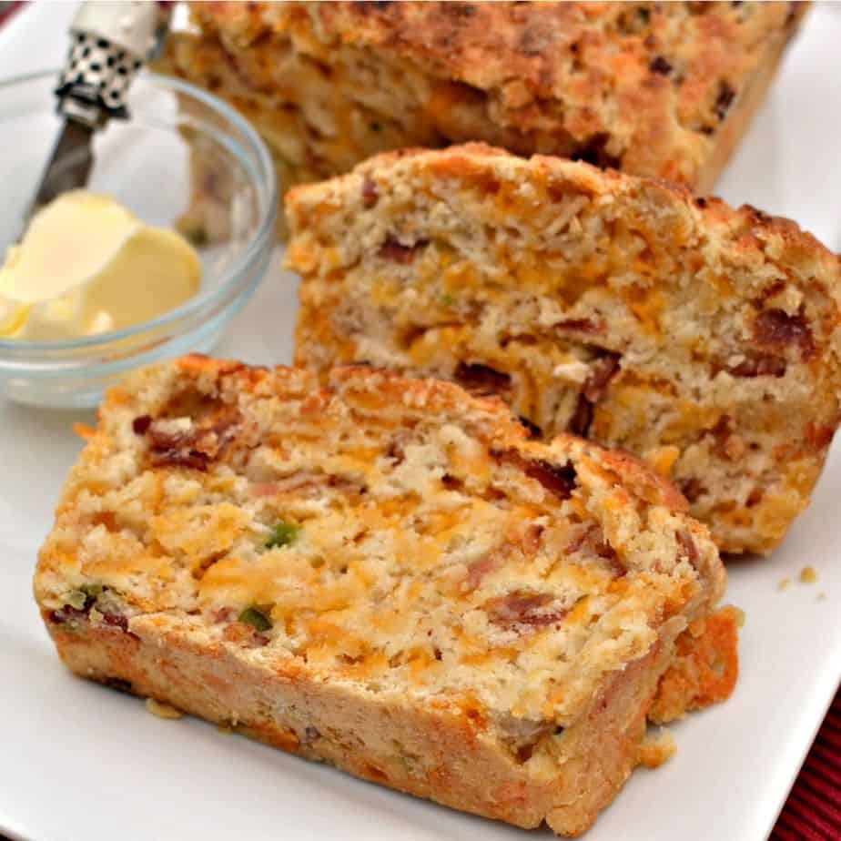 Jalapeno Bacon Cheddar Beer Bread