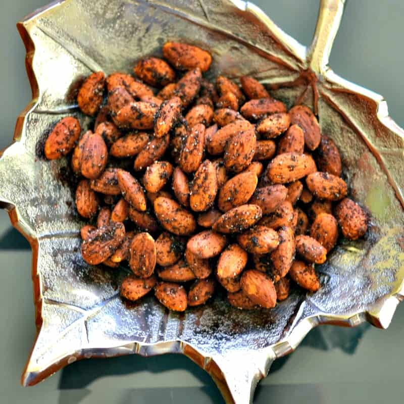 Image result for sweet chilli almonds,nari
