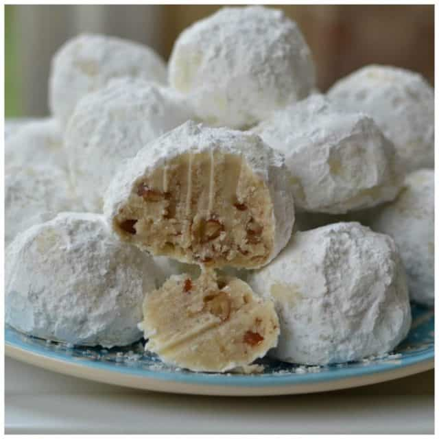 These are my absolute favorite cookies!! Buttery Pecan Snowball Cookies!hellip