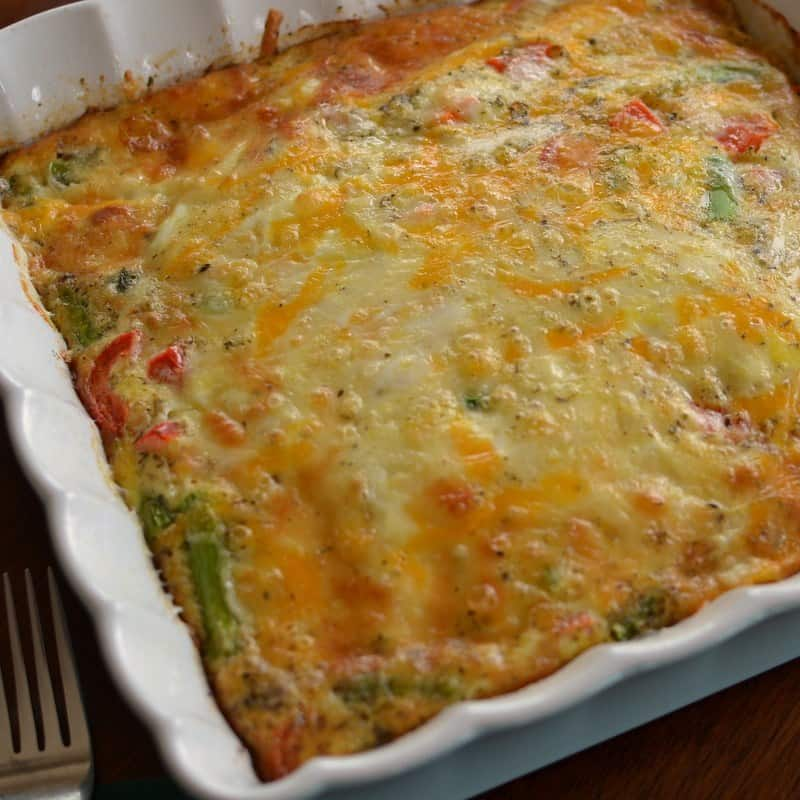 this delicious breakfast casserole can be made ahead of time for a quick breakfast