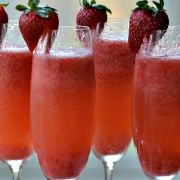Strawberry Puree for Mimosas