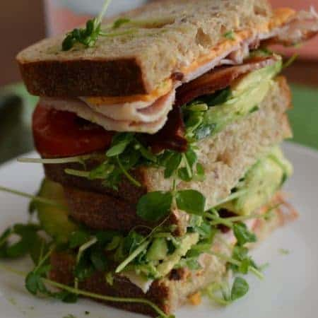 Extreme California Club Sandwich