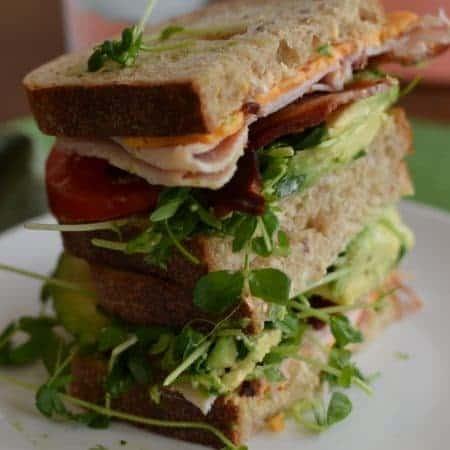 Extreme California Club Sandwich