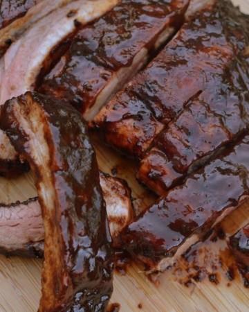 Balsamic Vinegar Barbecue Ribs