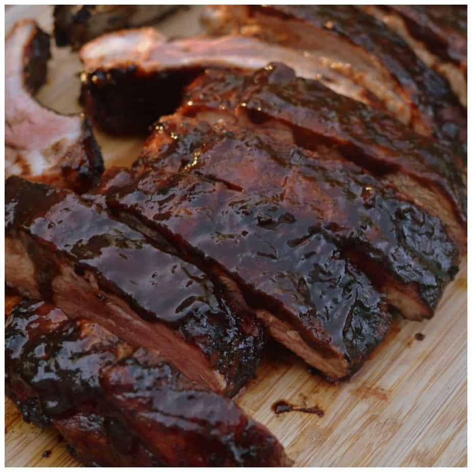 Balsamic Vinegar Barbecue Ribs are juicy and tender, perfectly seasoned with a spicy dry rub that marinates and flavors the meat
