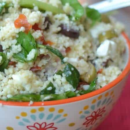 Easy Summer Couscous Salad