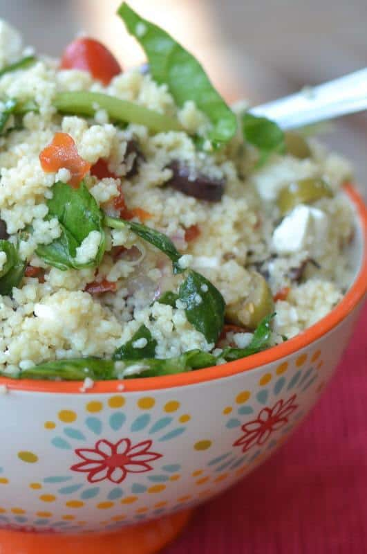 Easy Summer Couscous Salad Small Town Woman