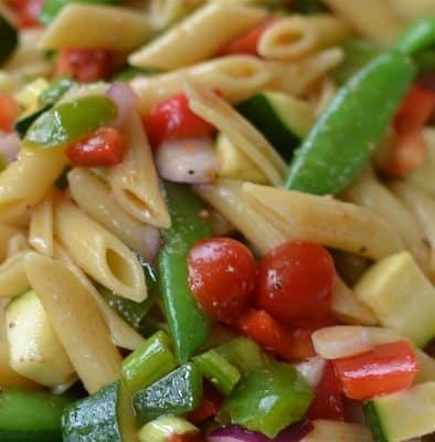 Fresh Summer Vegetable Pasta Salad