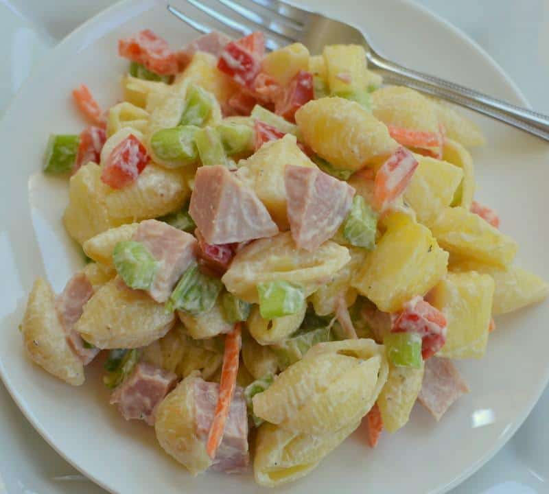 This Delectable Easy Sweet Hawaiian Pasta Salad Is Loved By Many Of Multiple Generations So Fix A Batch Up For The Family For A Light Supper This Evening