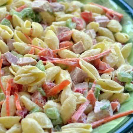 Easy Sweet Hawaiian Pasta Salad