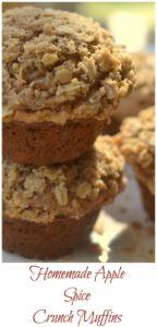 Apple Spice Crunch Muffins